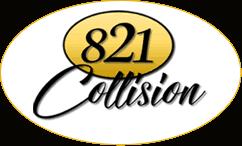821 Collision logo